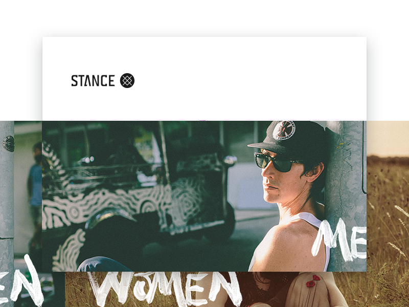 Stance brand book style guide website ecom