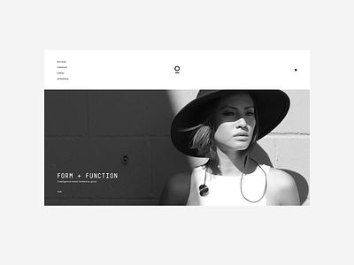 Play Drib 2 minimal ecommerce typography design website ui