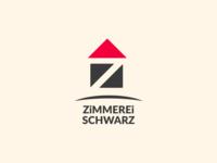 Logo Zimmerei Schwarz