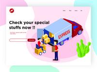 Web Design Sending Stuffs