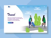 Ui Design Web Traveller