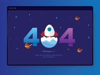 Exploration for 404 design page