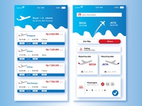 Design  UI for platform travel service