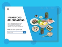 This is the design interface to Japanese Food