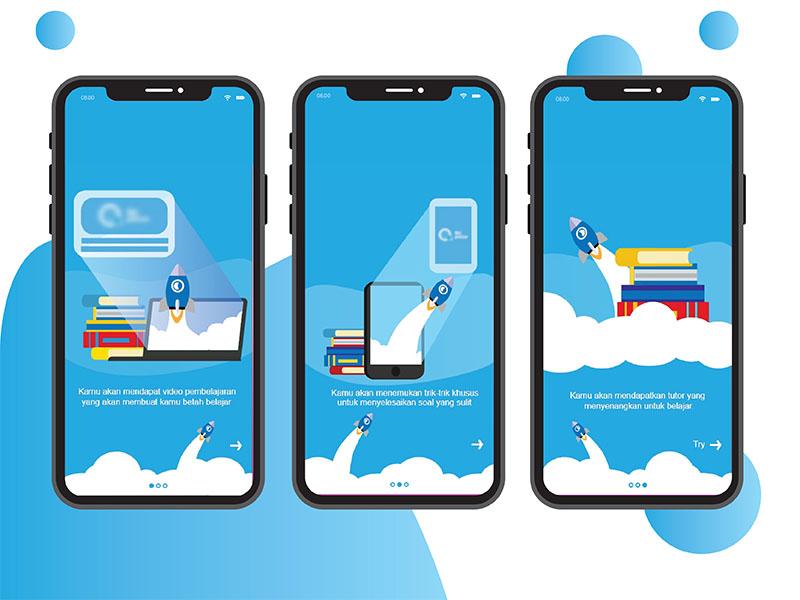 Ui E Learning For Mobile By Purwati Endah Darmayanti Dribbble