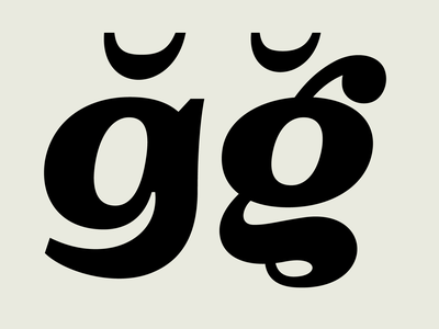 OTC Riga Two-story -g Diacritics fonts glyph font design character typeface font typedesign type design typography type