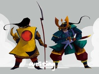 Character Design - Samurai