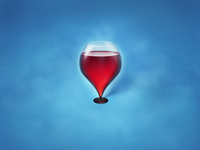 Wineglass location icon