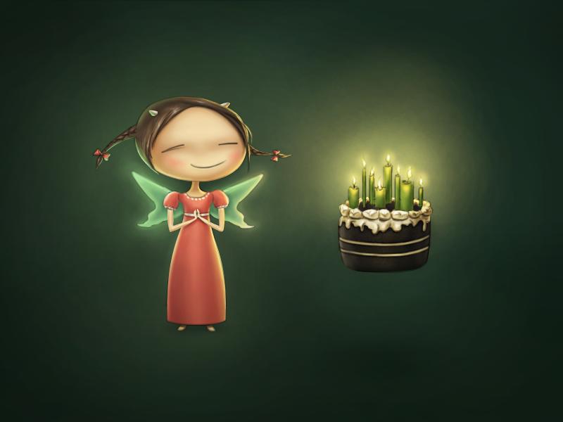 Happy Birthday, Borodox! birthday girl fairy cake