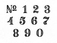 Vintage Numerals
