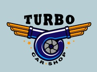 Logo Turbo Car Shop