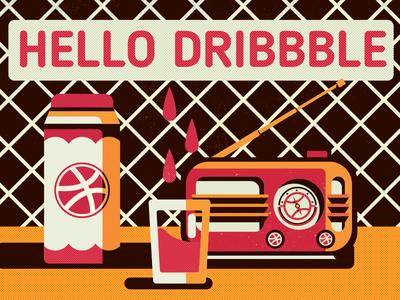 @Dribbble FM /Debut Shot