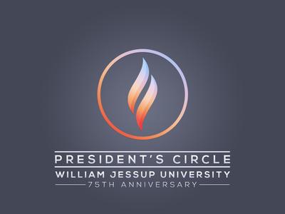 WJU President's Circle Logo