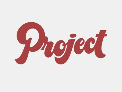 Project practice random word project customtype lettering typography vector type calligraphy handlettering