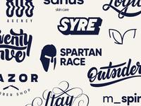 Logos & Lettering 2017
