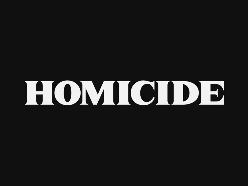 Homicide hiphop eminem logic homicide font design serif customtype lettering typography vector type handlettering