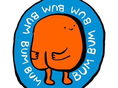 'Bum' T-shirt design