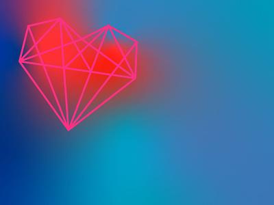 Happy Valentine's Day! challenge design gradients vector