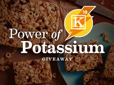 Power of Potassium Promo potassium recipe food photography consumer promotion e-commerce dates medjool dates healthy living
