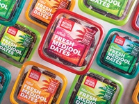 Natural Delights® Medjool Dates Packaging