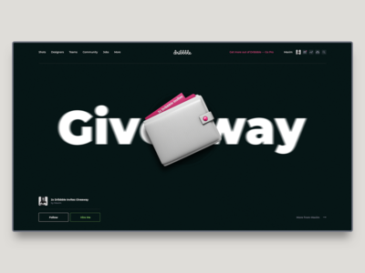 2x Dribbble Invites Giveaway #2