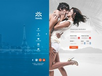 Travel Agency - Multipurpose Booking PSD Template