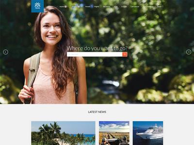 Travel Agency - update booking online booking hotel cruise flight ticket flights transfer tour tourist travel book