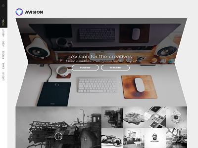 Avision - Multipurpose HTML5 Template website folding clean business corporate portfolio responsive template multipurpose