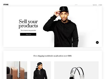 Kallyas Store  dailyui ui ux design graphic interface website template layout theme wordpress