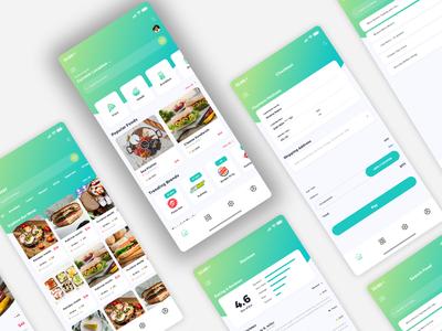 Monto Hot vector illustration branding store web design website design app ux ui mobile