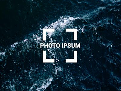Photoipsum - Lorem Ipsum for photos lorem ipsum ux ui sideproject logo