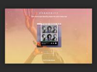 Snackify Landing Page - Spotify Menu Bar Player