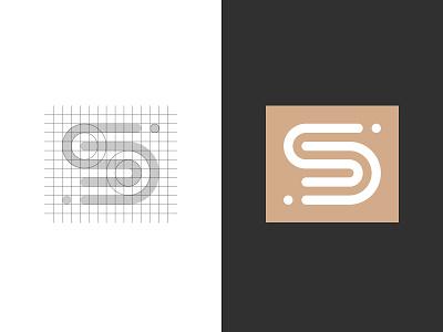 Stijl Domotica logomark sd mark automation logo