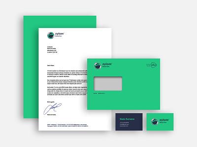 Have fun green games rebranding design
