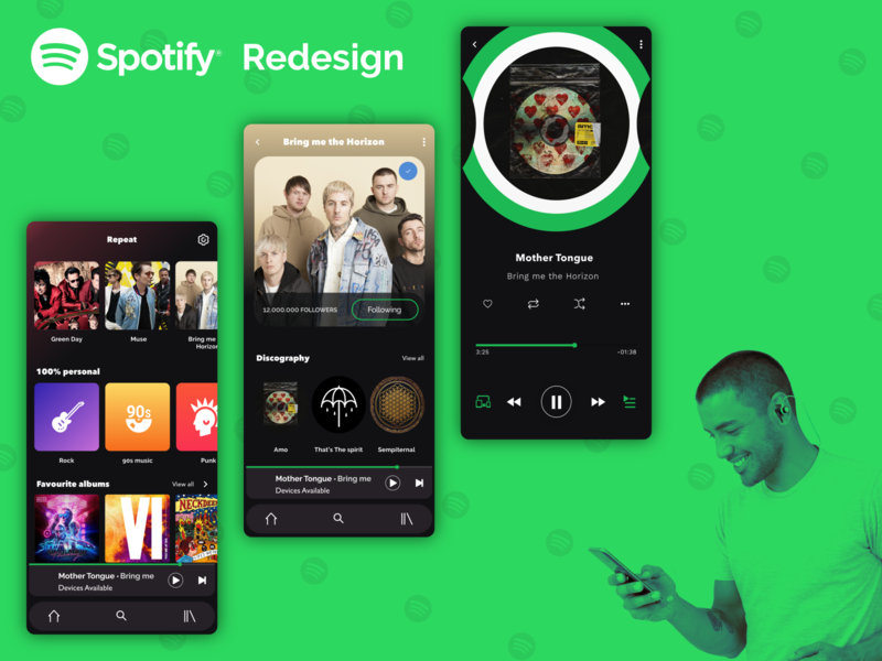 Spotify App Redesign