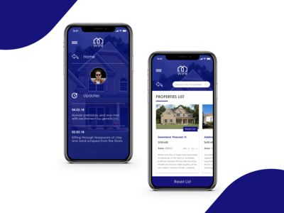 Search Property Mobile App.