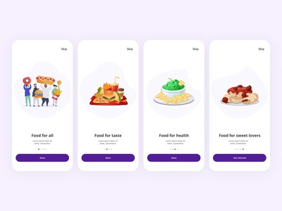 Mobile app for Food