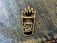 Punk N' Spice Enamel Pin