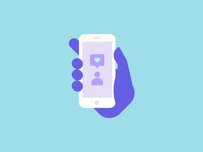 Social Media Icon social media icon illustration vector