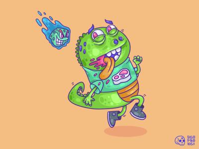 Dino meteorite dinosaur cartoon character cartoon illustration cartoons cartoon illustration art illustration