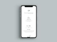 Sneaker Resale Mobile — Process Page fashion typography branding ux ui