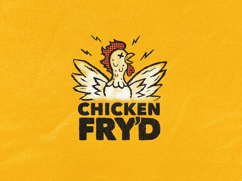 Fried Chicken Logo