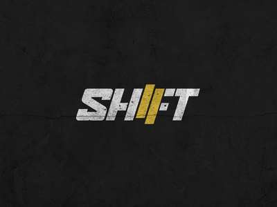 Shift Magazine Logotype car culture car shift street custom type typography racecar cars racing