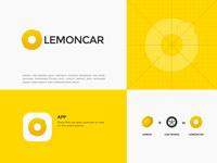 lemoncar Logo graphic design