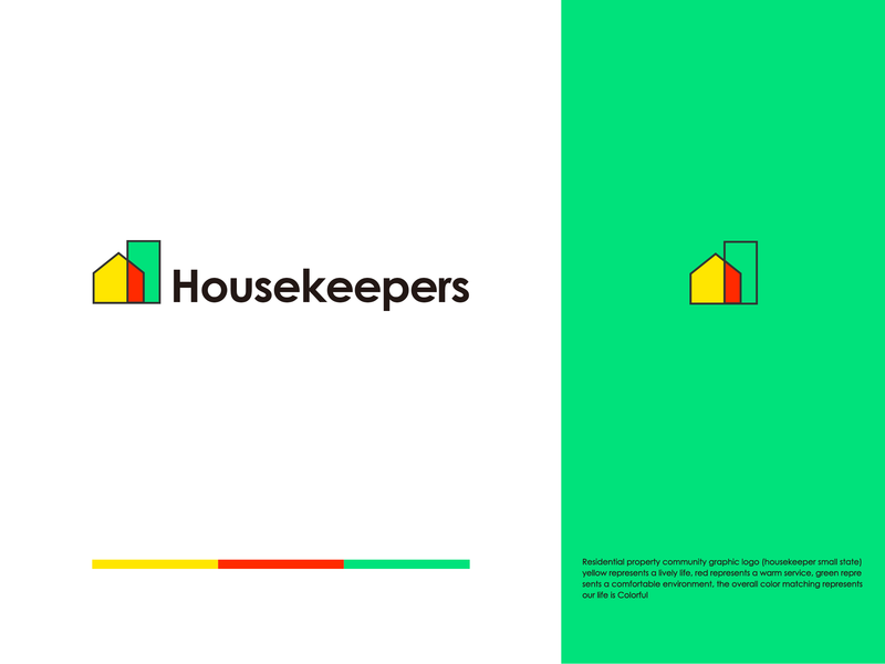 Graphic Marking of Property Community 品牌 插图 ui 设计