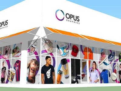 Opus Graphics Branding logo design identity graphics outdoors branding brand