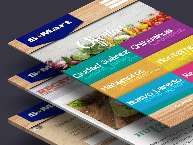 Smart Website design web website