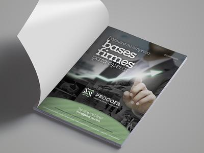 Procofa press magazine design art advertising