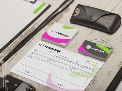 Snapshot Travel Re-branding stationary branding agency travel