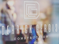 Logo for Derrik Gergis Construction